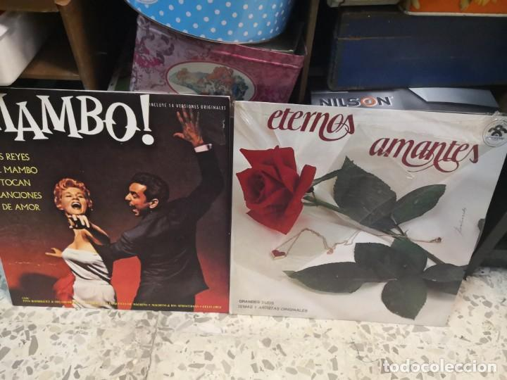 2 LP LOS REYES DEL MAMBO TOCAN CANCIONES DE AMOR Y ETERNOS AMANTES (Música - Discos - LP Vinilo - Grupos y Solistas de latinoamérica)