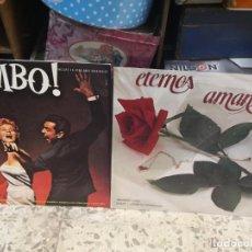 Discos de vinilo: 2 LP LOS REYES DEL MAMBO TOCAN CANCIONES DE AMOR Y ETERNOS AMANTES . Lote 184568573