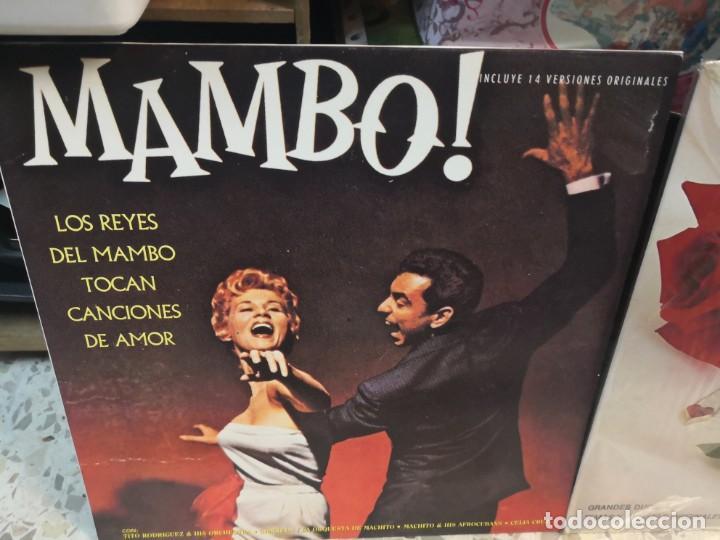 Discos de vinilo: 2 LP LOS REYES DEL MAMBO TOCAN CANCIONES DE AMOR Y ETERNOS AMANTES - Foto 2 - 184568573
