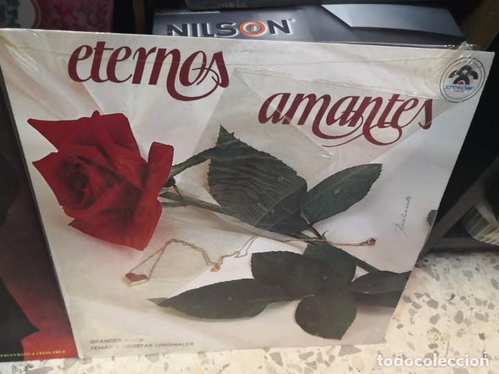 Discos de vinilo: 2 LP LOS REYES DEL MAMBO TOCAN CANCIONES DE AMOR Y ETERNOS AMANTES - Foto 3 - 184568573