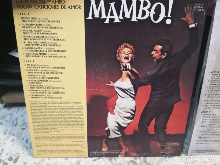 Discos de vinilo: 2 LP LOS REYES DEL MAMBO TOCAN CANCIONES DE AMOR Y ETERNOS AMANTES - Foto 4 - 184568573