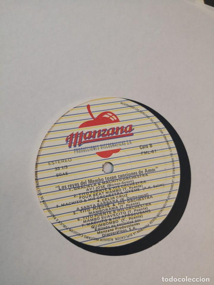 Discos de vinilo: 2 LP LOS REYES DEL MAMBO TOCAN CANCIONES DE AMOR Y ETERNOS AMANTES - Foto 9 - 184568573