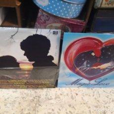 Discos de vinilo: 2 LP MAGIC LOVE - RECOPILATORIO VARIOS ARTISTAS Y PRIMERÍSIMAS DE SIEMPRE . Lote 184569086