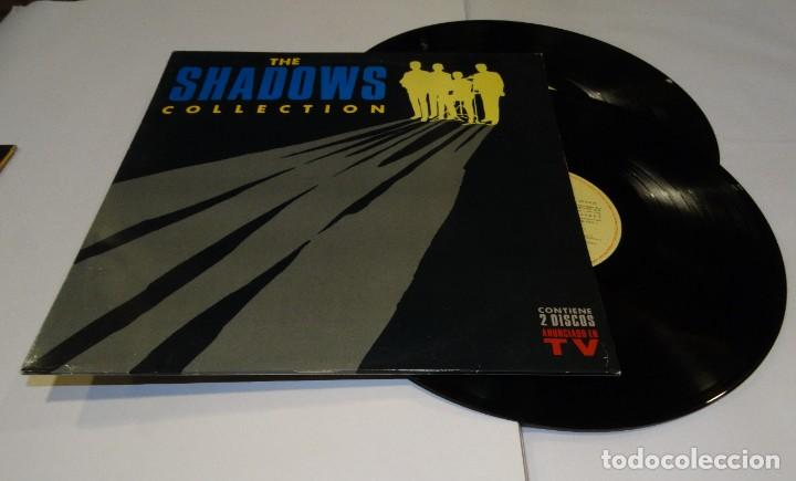 THE SHADOWS COLLECTION DOBLE LP 1991 (Música - Discos - LP Vinilo - Pop - Rock Extranjero de los 90 a la actualidad)