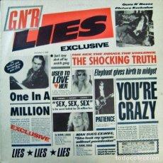 Discos de vinilo: GUNS N' ROSES – G N' R LIES. Lote 184571441