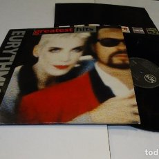 Discos de vinilo: GREATEST HITS EURYTHMICS LP 1991-ENCARTE. Lote 184571778