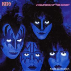 Discos de vinilo: KISS – CREATURES OF THE NIGHT. Lote 184572217