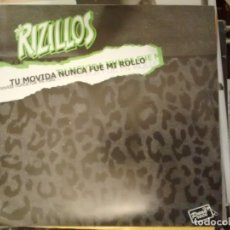 Disques de vinyle: THE RIZILLOS/DISTURBES IN URANUS - TU MOVIDA NUNCA FUE MI ROLLO EP 2005. Lote 184577998