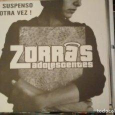 Discos de vinilo: ZORRAS ADOLESCENTES / LOS TENISTAS - ¡SUSPENSO OTRA VEZ! 2006. Lote 184579457