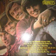 Discos de vinilo: THE MONKEES - THE MONKEES LP - ORIGINAL U.S.A. - COLGEMS RECORDS 1966 - MONOAURAL. Lote 184610442