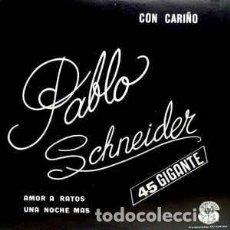 Discos de vinilo: PABLO SCHNEIDER – CON CARIÑO . Lote 184628405