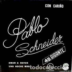 Discos de vinilo: Pablo Schneider – Con Cariño - Foto 2 - 184628405