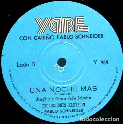 Discos de vinilo: Pablo Schneider – Con Cariño - Foto 3 - 184628405