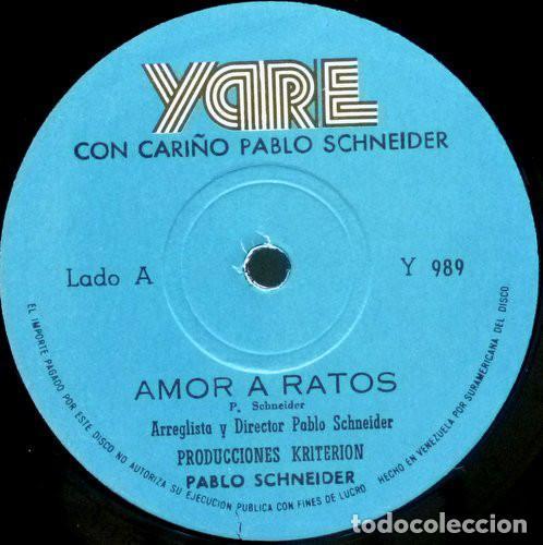 Discos de vinilo: Pablo Schneider – Con Cariño - Foto 4 - 184628405
