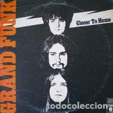 Discos de vinilo: GRAND FUNK RAILROAD – CLOSER TO HOME. Lote 184629622