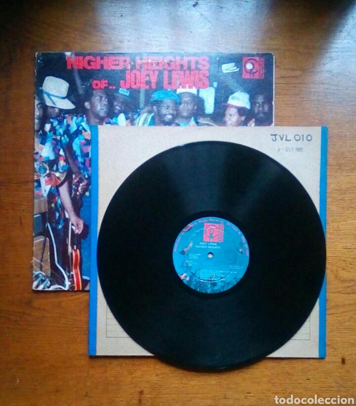 Discos de vinilo: Joey Lewis - Higher heights of Joey Lewis, Charlies Records, 1980. Trinidad & Tobago. - Foto 3 - 184630483