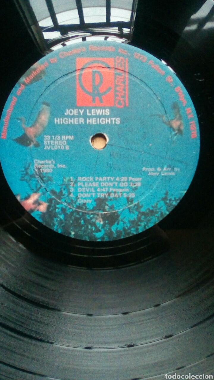 Discos de vinilo: Joey Lewis - Higher heights of Joey Lewis, Charlies Records, 1980. Trinidad & Tobago. - Foto 5 - 184630483