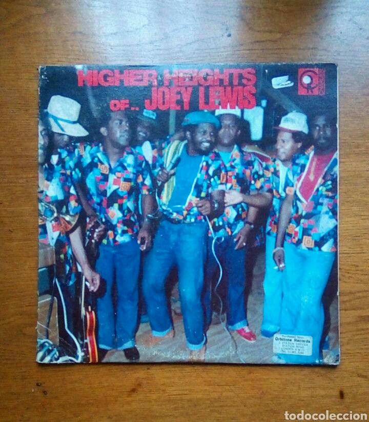 JOEY LEWIS - HIGHER HEIGHTS OF JOEY LEWIS, CHARLIE'S RECORDS, 1980. TRINIDAD & TOBAGO. (Música - Discos - LP Vinilo - Reggae - Ska)