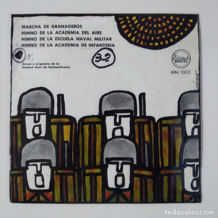 CANCIONERO DEL FRENTE DE JUVENTUDES JUVENTUD ESPAÑOLA AÑO 1963 EP DONCEL HN 1003 JONS FALANGE OJE (Música - Discos de Vinilo - EPs - Clásica, Ópera, Zarzuela y Marchas)