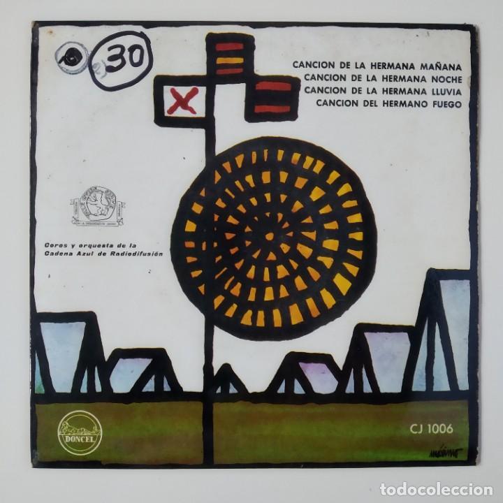 CANCIONERO DEL FRENTE DE JUVENTUDES JUVENTUD ESPAÑOLA AÑO 1963 EP DONCEL HN 1006 JONS FALANGE OJE (Música - Discos de Vinilo - EPs - Clásica, Ópera, Zarzuela y Marchas)
