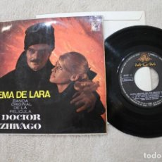 Discos de vinilo: DOCTOR ZIVAGO TEMA DE LARA BANDA ORIGINAL DE LA PELICULA. Lote 184637092
