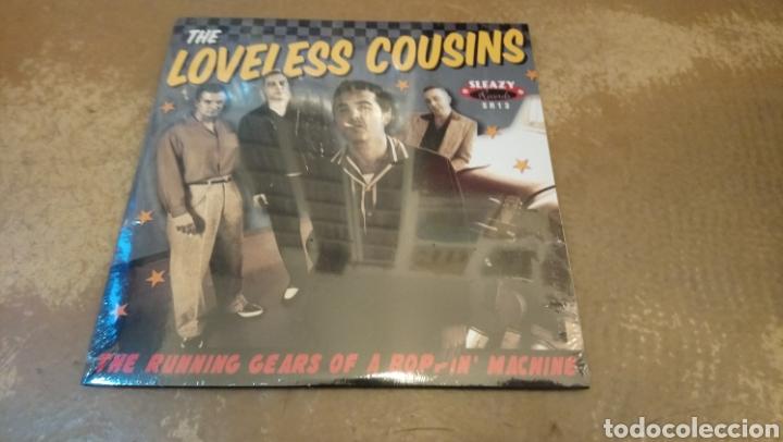 THE LOVELESS COUSINS–THE RUNNING GEARS OF A BOPPIN' MACHINE . SINGLE PRECINTADO. ROCKABILLY. (Música - Discos - Singles Vinilo - Rock & Roll)