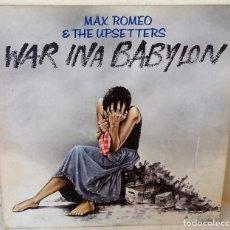 Discos de vinilo: MAX ROMEO & THE UPSETTERS - WAR IN A BABYLON ISLAND - 1981. Lote 184637428