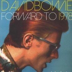 Discos de vinilo: DAVID BOWIE – FORWARD TO 1978 - LP-. Lote 184642065