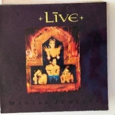 Discos de vinilo: LIVE - MENTAL JEWELRY - LP RADIOACTIVE ALEMANIA 1991. Lote 184642842
