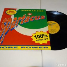 Discos de vinilo: SPARTACUS THE FARM LP 1991. Lote 184646608