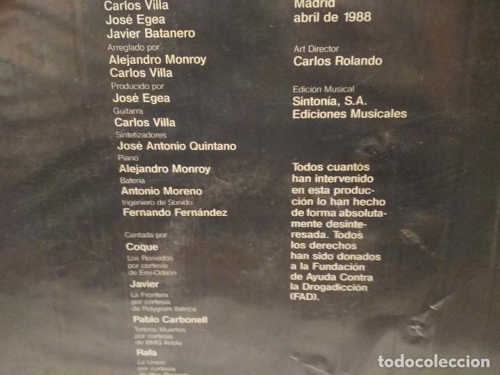 Discos de vinilo: VARIOS - ENGANCHATE A LA VIDA - MAXI Coque M, Javier ( La frontera ) Pablo (Toreros M.) Rafa PEPETO - Foto 4 - 184646742