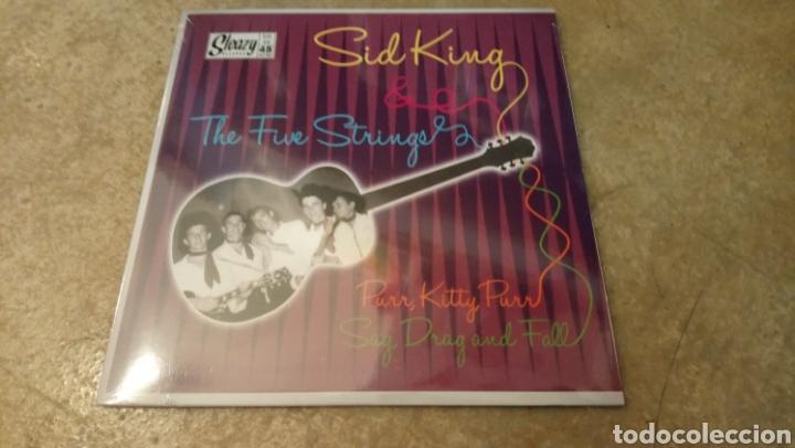 SID KING & THE FIVE STRINGS – PURR, KITTY, PURR. SINGLE VINILO PRECINTADO. ROCKABILLY (Música - Discos - Singles Vinilo - Rock & Roll)