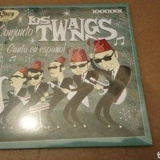 Discos de vinilo: CONJUNTO LOS TWANGS – CANTA EN ESPAÑOL. EP VINILO PRECINTADO - ROCKABILLY -. Lote 184650387