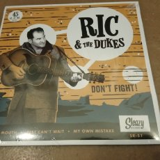 Discos de vinilo: RIC & THE DUKES ‎– DON'T FIGHT!. EP VINILO PRECINTADO. ROCKABILLY. Lote 184650701