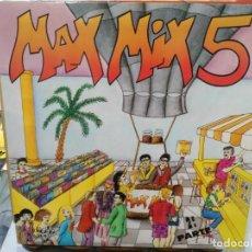 Discos de vinilo: MAX MIX 5 - PART. 2 - DOBLE LP. DEL SELLO MAX MUSIC DE 1987. Lote 184652950