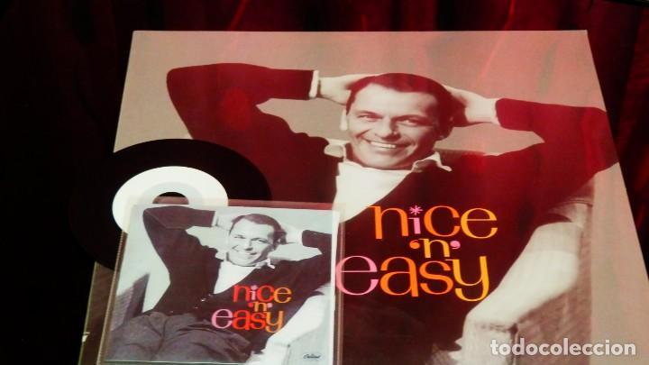 Discos de vinilo: FRANK SINATRA * LP HQ Virgin Vinyl 140g + CD * NICE N EASY * LTD Precintado!! - Foto 2 - 113026571