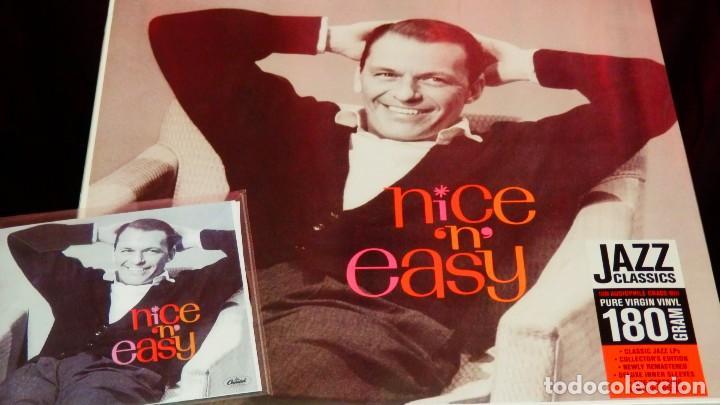 Discos de vinilo: FRANK SINATRA * LP HQ Virgin Vinyl 180g + CD * NICE N EASY * Edición Limitada *Precintado!! - Foto 11 - 113113595