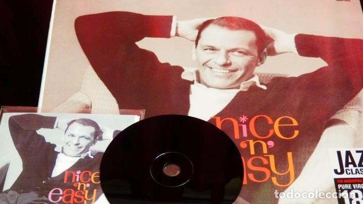 Discos de vinilo: FRANK SINATRA * LP HQ Virgin Vinyl 180g + CD * NICE N EASY * Edición Limitada *Precintado!! - Foto 12 - 113113595