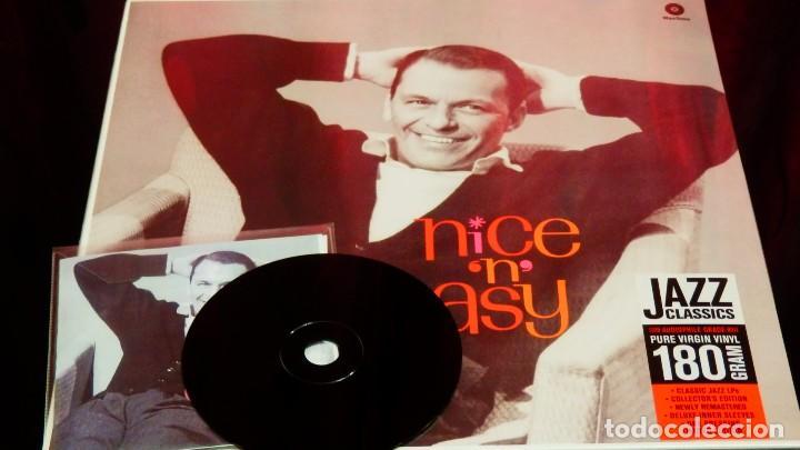Discos de vinilo: FRANK SINATRA * LP HQ Virgin Vinyl 180g + CD * NICE N EASY * Edición Limitada *Precintado!! - Foto 13 - 113113595