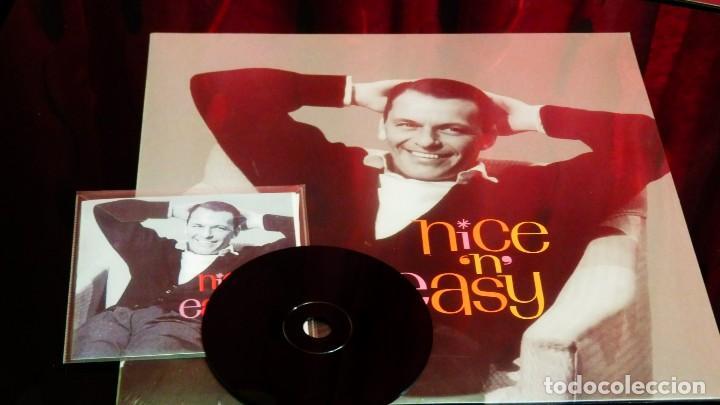 Discos de vinilo: FRANK SINATRA * LP HQ Virgin Vinyl 180g + CD * NICE N EASY * Edición Limitada *Precintado!! - Foto 14 - 113113595