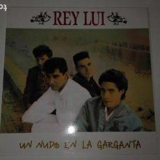 Discos de vinilo: VINILO LP. REY LUI. UN NUDO EN LA GARGANTA. 1988. Lote 184671270