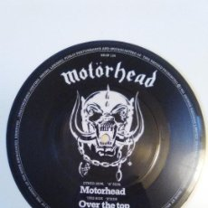 Discos de vinilo: MOTORHEAD MOTORHEAD / OVER THE TOP ( 1981 BRONZE UK ) PICTURE DISC SINGLE. Lote 184678116