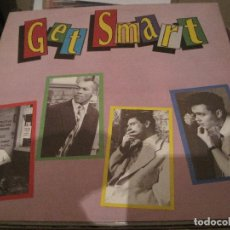 Discos de vinilo: LP GET SMART NERVOUS RECORDS 027 NEO ROCKABILLY. Lote 184681247