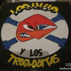 Discos de vinilo: LP LOQUILLO Y LOS TROGLODITAS LOS SINGLES TRES CIPRESES 140 NEO ROCKABILLY. Lote 184683957