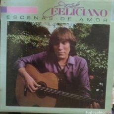 Discos de vinilo: ESCENAS DE AMOR. - FELICIANO, JOSE.. Lote 173686265