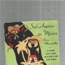 Disques de vinyle: TRIO MARAVILLA. Lote 184685342