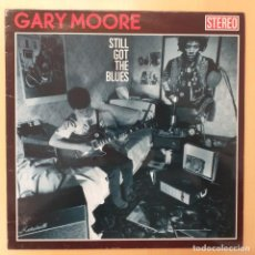 Discos de vinilo: GARY MOORE - STILL GOT THE BLUES (LP) 1990. Lote 184686776