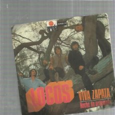 Discos de vinilo: LOCOS VIVA ZAPATA. Lote 184686805