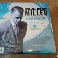 Discos de vinilo: BABE MILLER–HEART PROBLEMS . EP VINILO PRECINTADO. ROCKABILLY. Lote 184689073