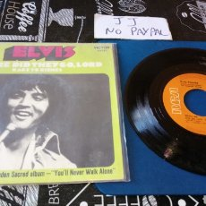 Discos de vinilo: ELVIS PRESLEY WHERE DID THEY GO LORD RAGS TO RICHES INEDITO EN TC. Lote 184689661